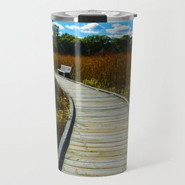 Point Pelee National Park Boardwalk in Leamington ON Canada Travel Mug