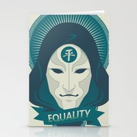 equality Stationery Cards featuring EQUALITY by Akiwa