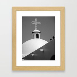 Our Lady of Carmen Framed Art Print
