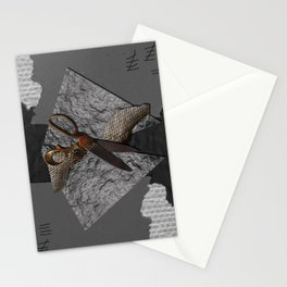 Rock, Paper, Scissors. Stationery Cards