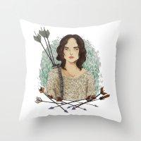 allison argent Throw Pillows featuring Allison Argent by strangehats