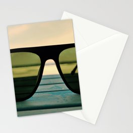 Chillax the Glass Stationery Cards