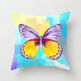 Shady Lavender Throw Pillow