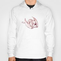 smaug Hoodies featuring Baby Smaug - Paper version by Kinsei