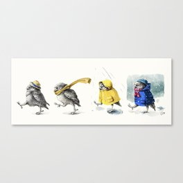 Weather Broadcast Canvas Print
