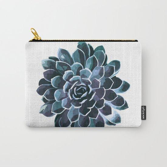 Succulent Echeveria I Carry-All Pouch