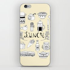 Lunch iPhone Skin