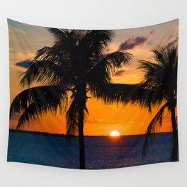 Key Largo Sunset Wall Tapestry