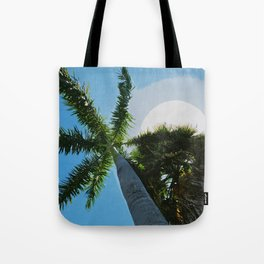 Queen Palm Florida Keys Tote Bag