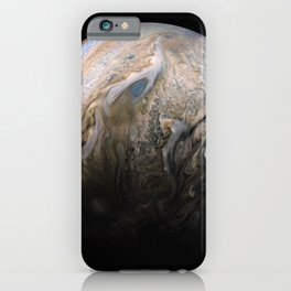 Planet Jupiter Deep Space Probe Telescopic Photograph No. 3 iPhone Case