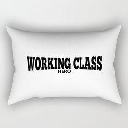 Working Class Hero Rectangular Pillow