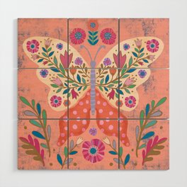 Blooming Butterfly Wood Wall Art