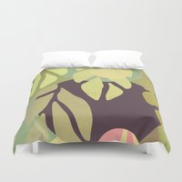 jungle Duvet Covers featuring Jungle by VessDSign