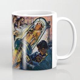 Vintage Sci-Fi (Science Fiction) Illustration Coffee Mug