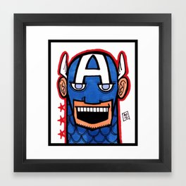 O Cap'n, My Cap'n Framed Art Print