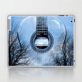 music blue  Laptop & iPad Skin