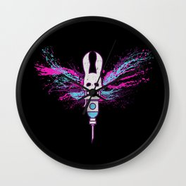 Little Moth Wall Clock