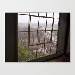 bandera window Canvas Print