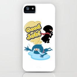 Ninja! Secret picture scroll of Anko Ogura. iPhone Case