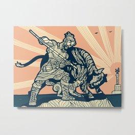 Berlin - The Bull Hunter Metal Print