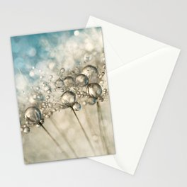 Sapphire & Silver Sparkle Stationery Cards