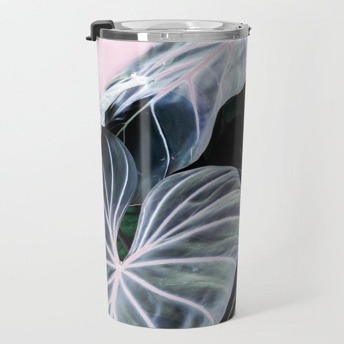 Tropical Foliage Travel Mug