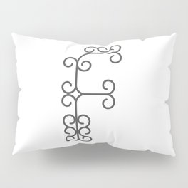 """Letter """"F"""" in beautiful design Fashion Modern Style Pillow Sham"""