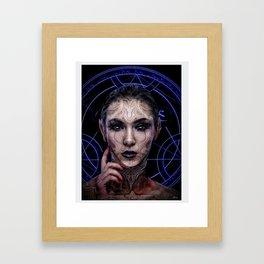 Lilith Cries Framed Art Print