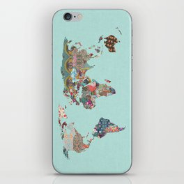 Louis Armstrong Told Us So (teal) iPhone Skin