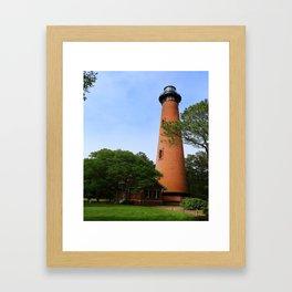 Currituck Beach Light Station Framed Art Print