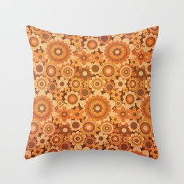 sunshower Throw Pillow