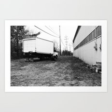 Back Lot.  Art Print