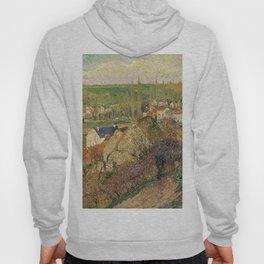 """Camille Pissarro """"Vue sur le village d'Osny"""" Hoody"""