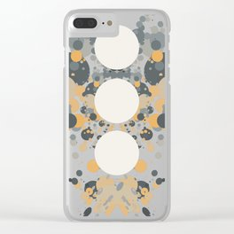 Rorschach Clear iPhone Case