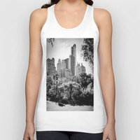 central park Tank Tops featuring Central Park by Petra Heitler