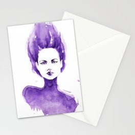 Purple Water Faery Stationery Cards