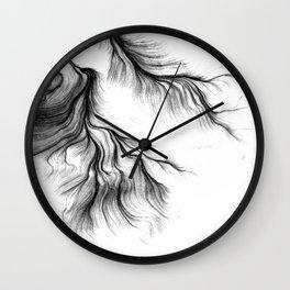 Tear Wall Clock