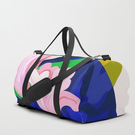 Blue Leaf Duffle Bag