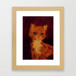 Mysticat Framed Art Print