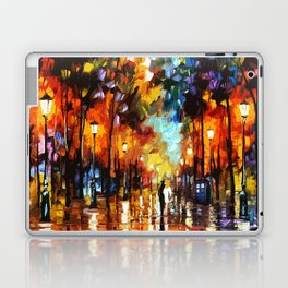 Tardis Art And The Couple Starry Night Laptop & iPad Skin