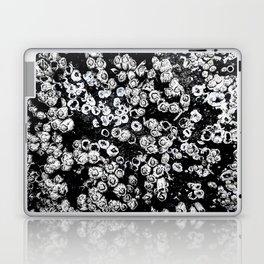 Black and White Barnacles Laptop & iPad Skin