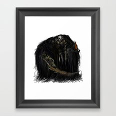 Gravelord Nito - Dark Souls Framed Art Print