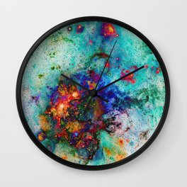 Everything is nothing 9 (therefore it was beautiful) Wall Clock