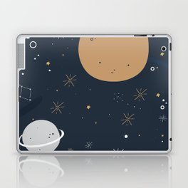 The Moon and the Stars Laptop & iPad Skin