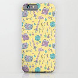 Dungeons and Dragons (lemon) iPhone Case