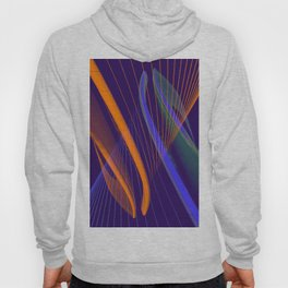 curved lines in architecure Hoody