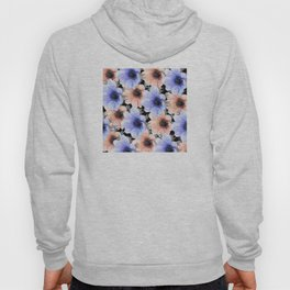 At Peace in My Garden: Floral Pattern Hoody