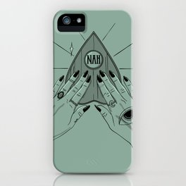 NAH iPhone Case