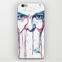 Bowie Watercolor  iPhone Skin