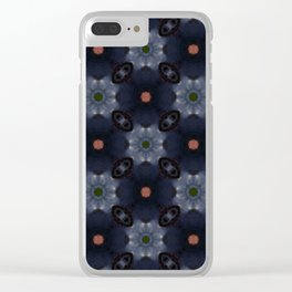 Blues Berries 1 Clear iPhone Case